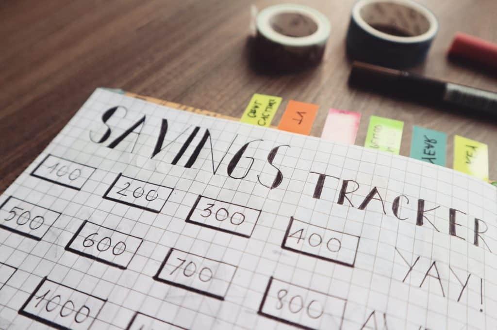 savings tracker sparande