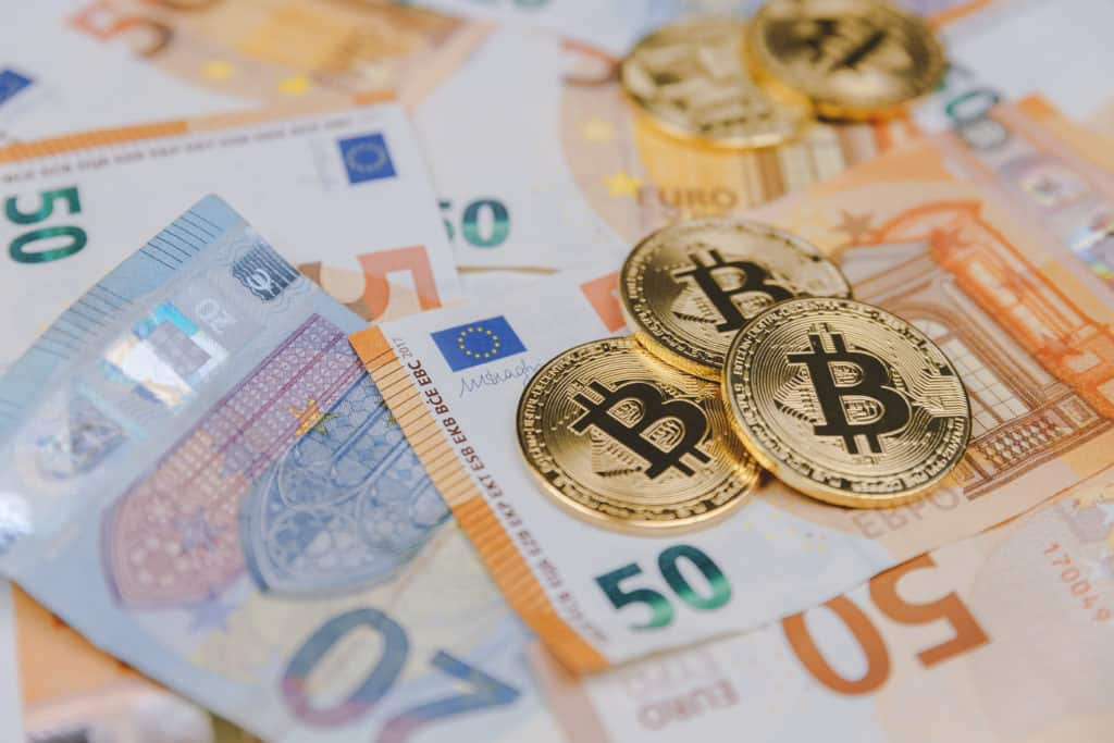 Bitcoin and euro