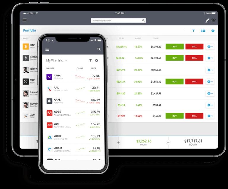 etoro mobil app