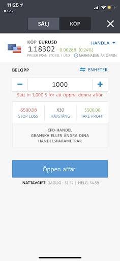 kop forex på trading app