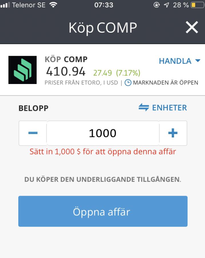 Köpa Compound
